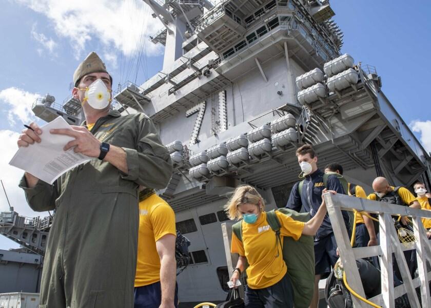 Aircraft carrier Theodore Roosevelt