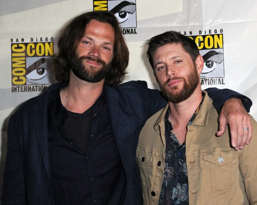 Jared Padalecki, left, and Jensen Ackles