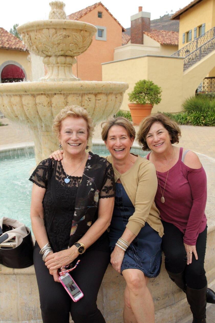 Gay Rowan, Gina Lomiglio, Andrea Jesse