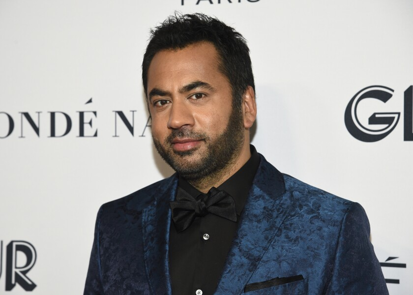 """FILE - Kal Penn attends the Glamour Women of the Year Awards in New York on Nov. 11, 2019. Penn is hoping to reach Millennial and Gen Z voters with a new half-hour TV show on Freeform, """"Kal Penn Approves This Message,"""" premiering Tuesday, Sept, 22. (Photo by Evan Agostini/Invision/AP, File)"""