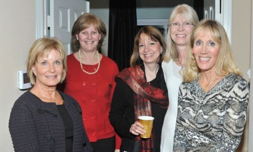 Sue Gaskill, Connie Parker, Dr. Michele Carpenter, Janice Rudnick, Cathi Dow