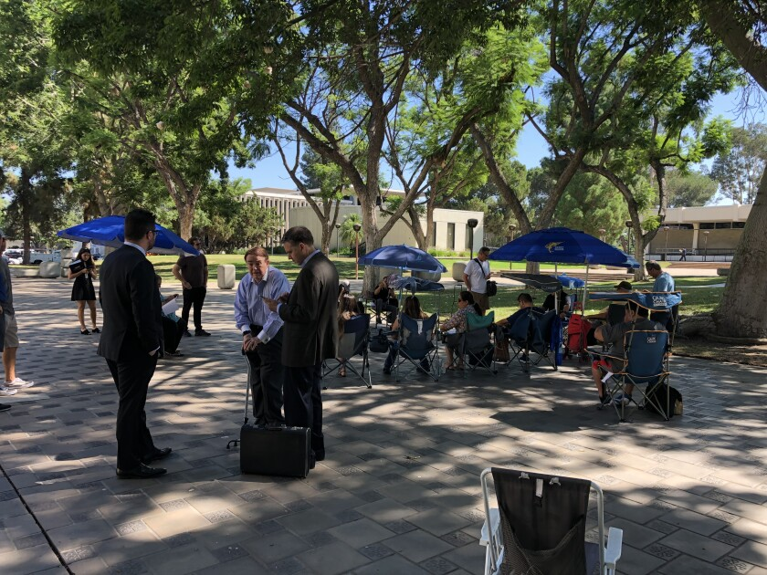 At Pomona's Civic Center Plaza, the 157-property Beverly Hills property known as the Mountain sold for $100,000 in a foreclosure auction.