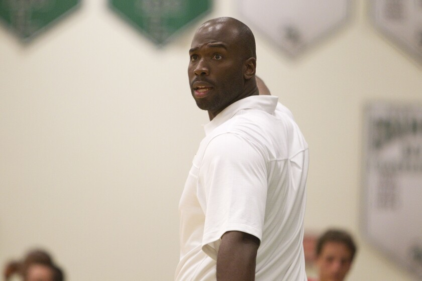 The Mater Dei Catholic Crusaders of coach Jason Bryant (shown in an earlier season) defeated Oceanside on Tuesday night.