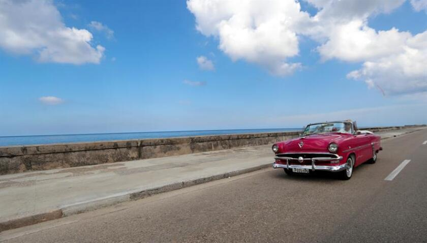 La Habana (CUBA). Photo taken on Nov. 13, 2018: Some 200 cars manufactured before 1960 will be on display next month in Havana's largest-ever assemblage of classic vehicles for the first edition of the Iberostar Grand Prix, presented by the Cuban unit of Iberostar hotels. EPA/EFE/Ernesto Mastrascusa/FILE