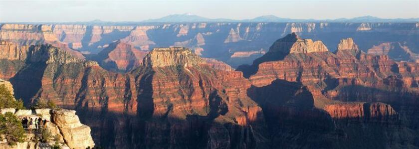 View of Arizona's Grand Canyon, declared one of the seven natural wonders of the world and known for its breathtaking panoramic views, and which on Tuesday, Feb. 26, will complete its first century as a US national park. EFE-EPA/Grand Canyon National Park/File