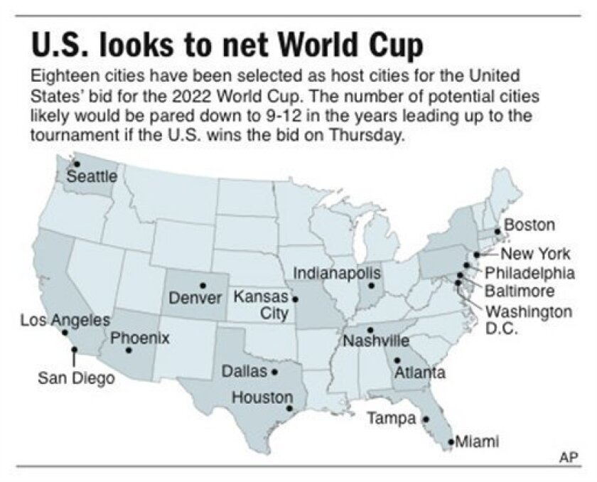 US awaits 2022 World Cup with big hopes for soccer - The San ...