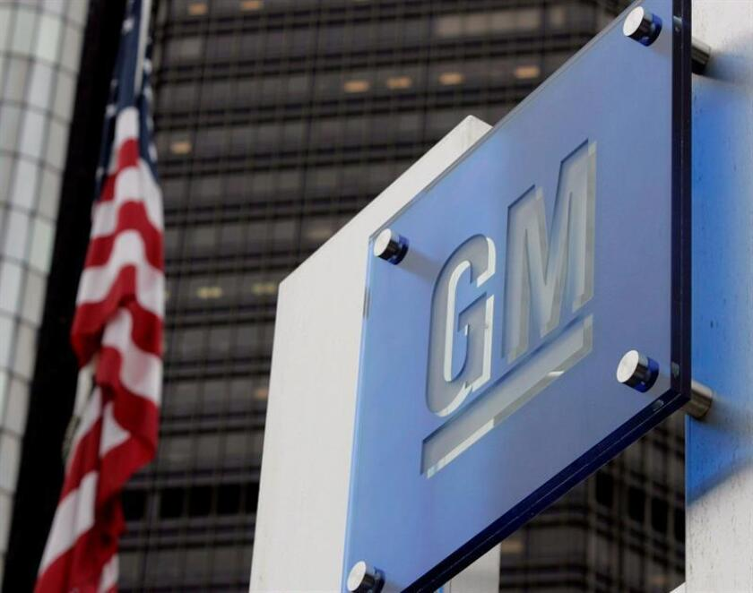 Logo de General Motors en Detroit (Estados Unidos), el 22 de marzo de 2006. EFE/Archivo