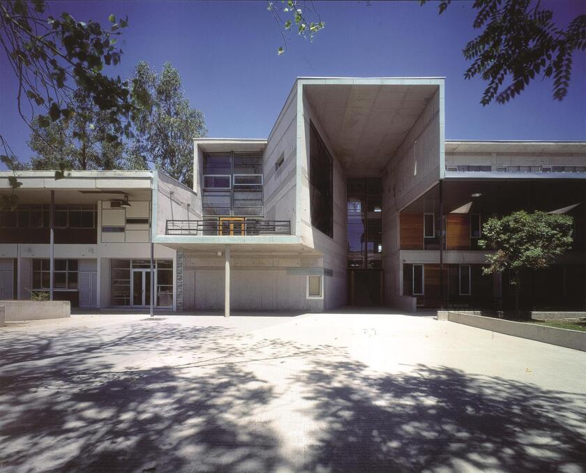 Alejandro Aravena's Mathematics School at Catholic University in Santiago, Chila