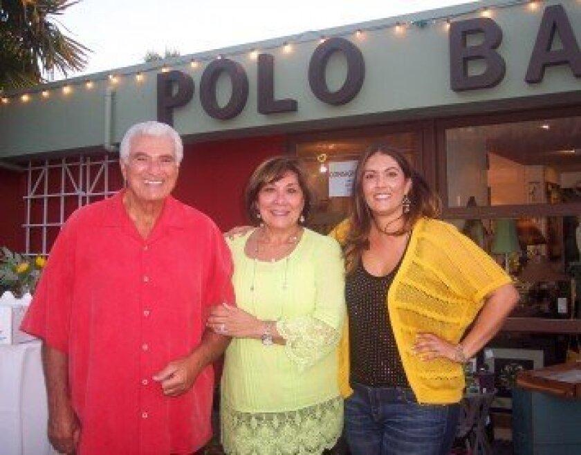 (L-R) Joe Kellejian, Mary Kellejian and Kelli Kellejian Barrett. Photo/Diane Welch