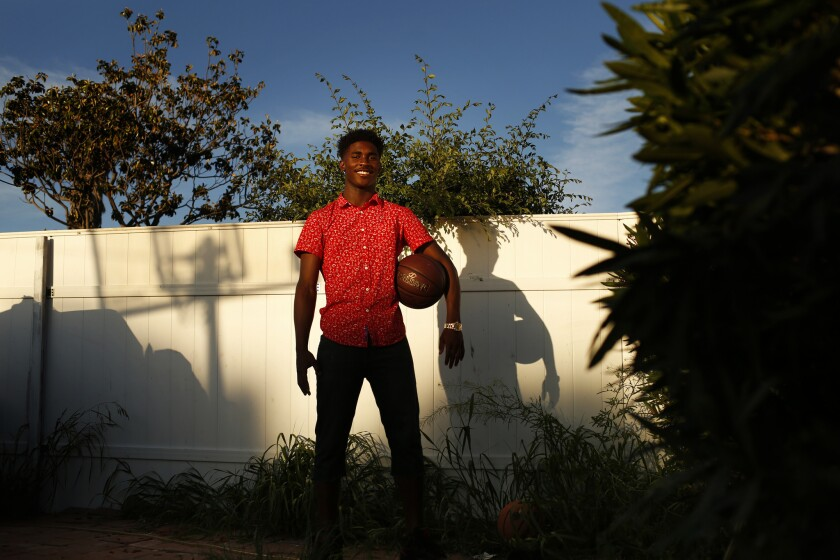 Dominguez High freshman multi-sport standout Sean Harlston stays true to his Compton roots