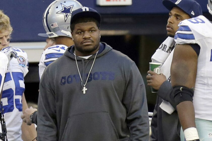 Report: Josh Brent banned from Cowboys' sideline for rest of year