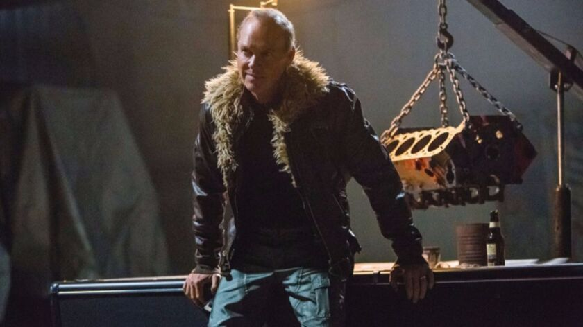 """Michael Keaton as Adrian Toomes, a.k.a. the Vulture, in """"Spider-Man: Homecoming."""""""