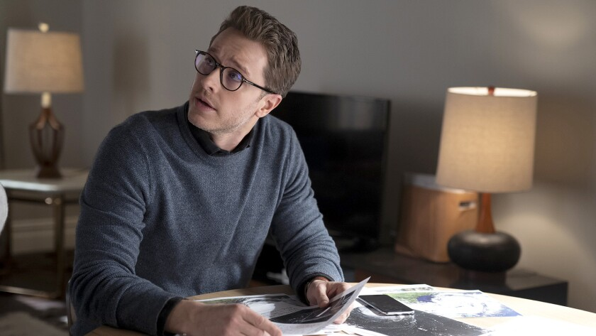 """Josh Dallas in a new episode of the mystery """"Manifest"""" on NBC."""