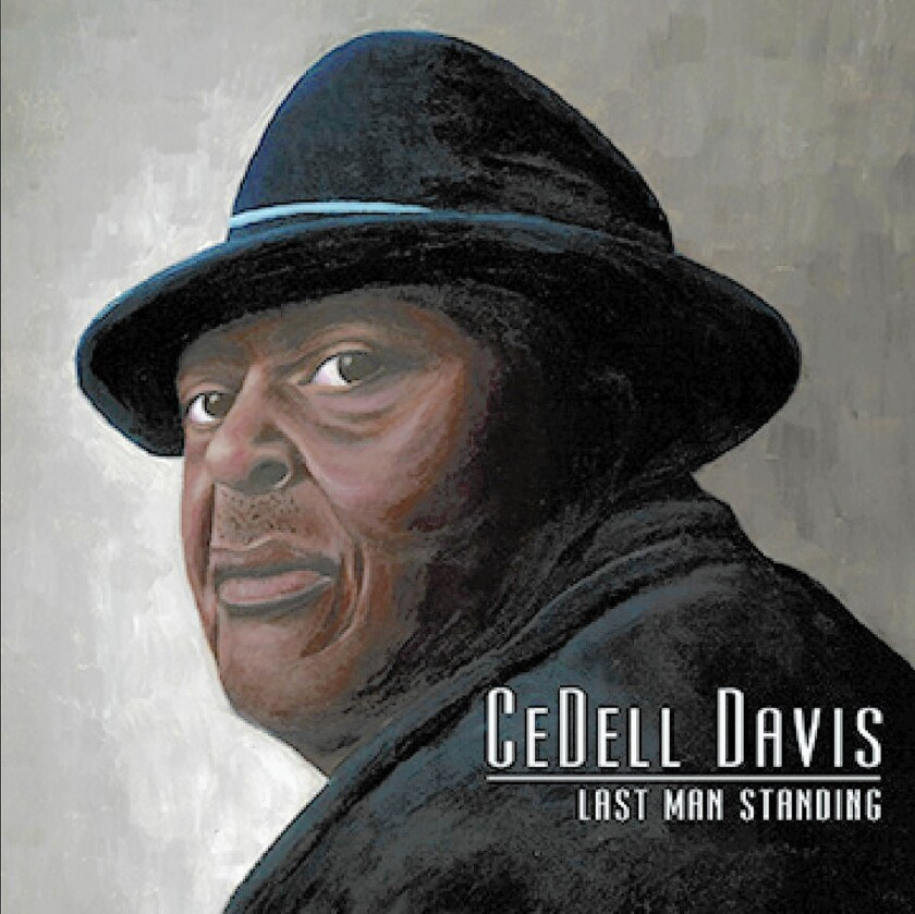 """""""Last Man Standing"""" finds CeDell Davis growling his finest Delta blues."""