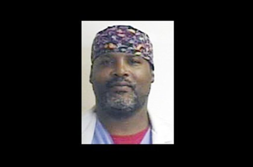 """In this undated photo provided by the Buffalo, N.Y. Police Department, Dr. Timothy Jorden is shown. Jorden is sought as a """"person of Interest"""" in a fatal shooting of a woman at a Buffalo, N.Y. hospital. (AP Photo/Buffalo N.Y. Police Department)"""