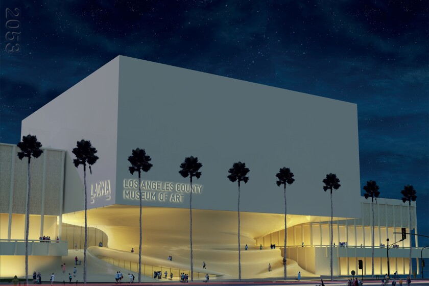 Proposal for a new LACMA by Kaya Design