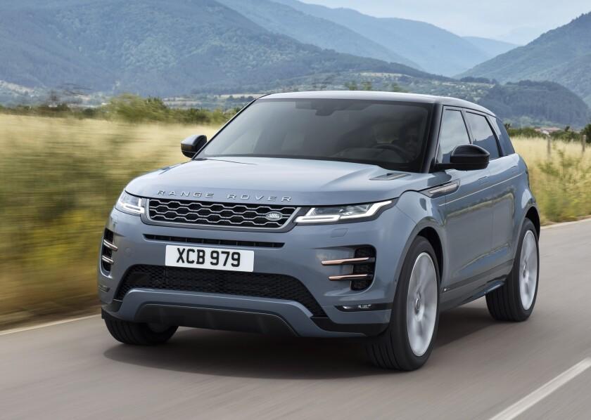 2020 Range Rover Evoque An Evolved Beauty Marque The San