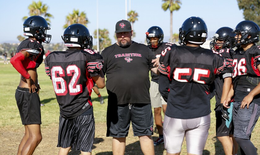 Chris Livesay comes to Castle Park High as the new head football coach. He has coached at Eastlake, Otay Ranch and Sweetwater.