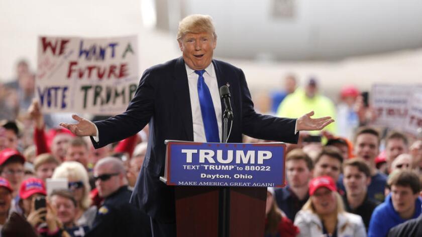 Donald Trump se impuso hoy en California.