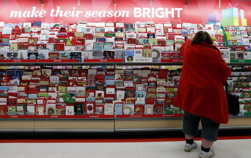 Holidays Addressing Cards