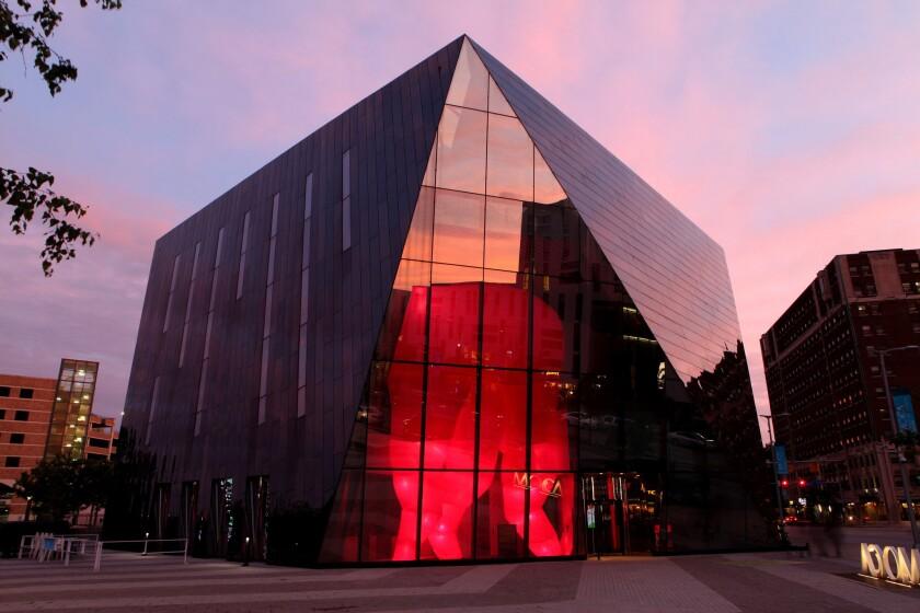 The gem-like Museum of Contemporary Art Cleveland.