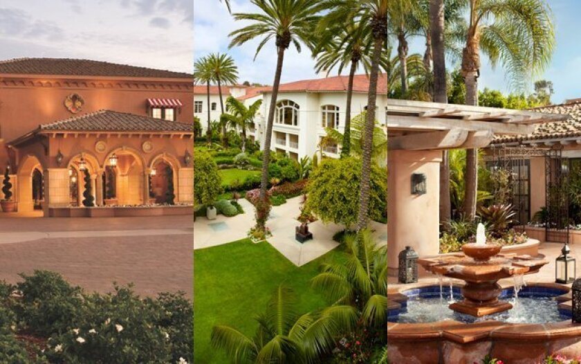 San Diego County's Grand Del Mar, Park Hyatt Aviara and Rancho Valencia are among an exclusive list of Forbes' five-star properties in the U.S.