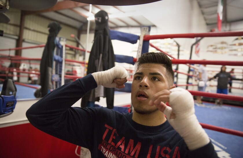 A father's tough love mixed with a son's talent puts boxer