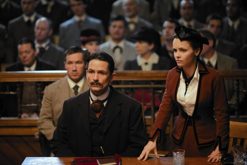"Billy Campbell and Christina Ricci star in ""Lizzie Borden Took an Ax."""
