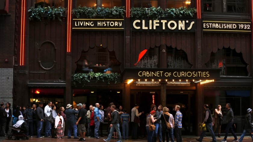Clifton's cafeteria will open a tiki bar called Pacific Seas later this year.