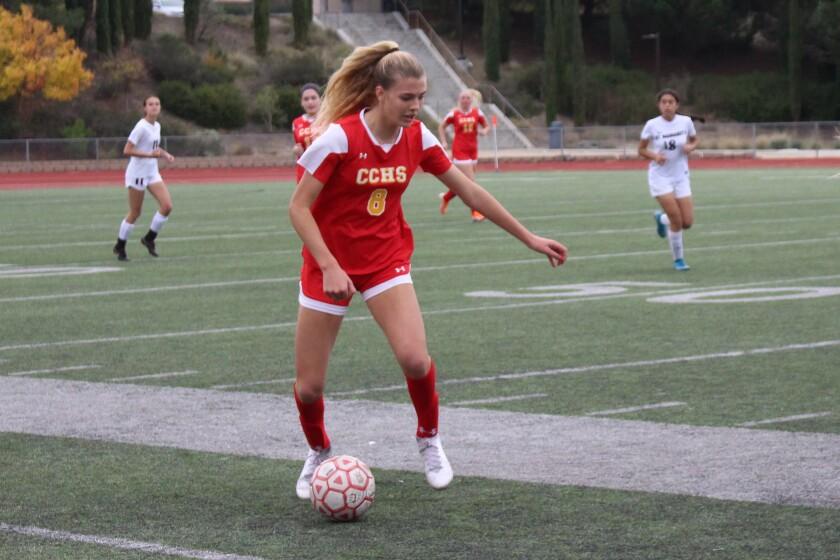 Kelsey Branson, Cathedral Catholic high school girls soccer