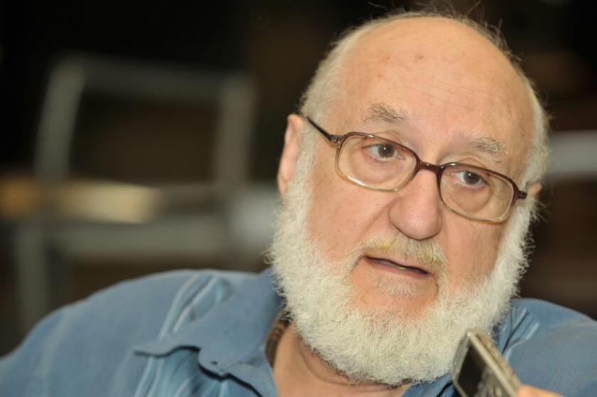 El presidente de la Academia Norteamericana de la Lengua Española, Gerardo Piña Rosales. EFE/ Archivo