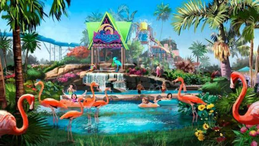 Seaworld Bringing Aquatica Water Park To San Diego Los Angeles Times