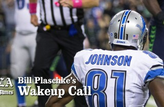 Bill Plaschke's Wakeup Call: You can't leave a game in the hands of the refs