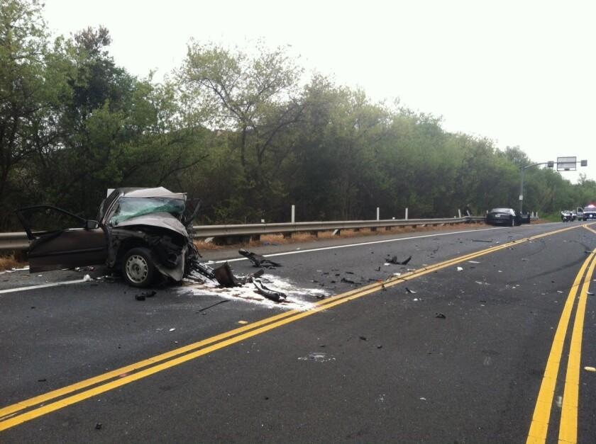 Head-on collision in Laguna Beach kills 2, closes road