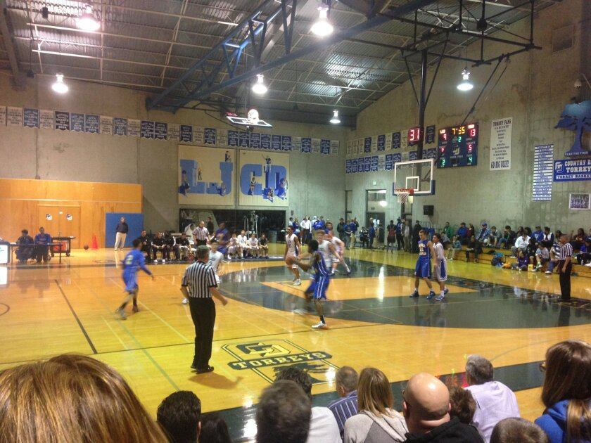 La Jolla Country Day's boys basketball team lost to Mira Mesa High in the CIF semifinals.