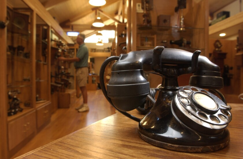 Telephone museum destroyed by fire