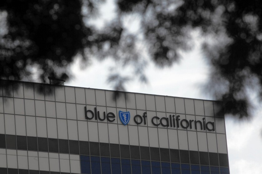 Blue Shield said in March that it had been recognized as one of the World's Most Ethical Companies for the third year in a row. It and others pay a company for consideration of the title. Above, an office of the insurer in El Segundo.