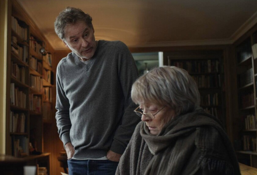 """Kevin Kline inherits a Paris apartment and faces tenant Maggie Smith in """"My Old Lady."""""""