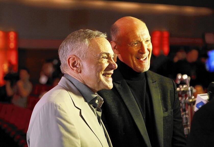 Executive producers for the 85th Academy Awards show Oscars telecast are Neil Meron, right, and Craig Zadan.