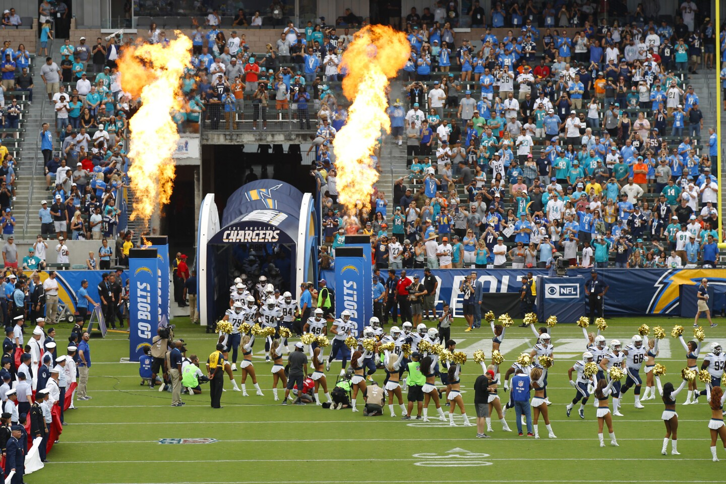 Chargers vs. Dolphins 9/17/17