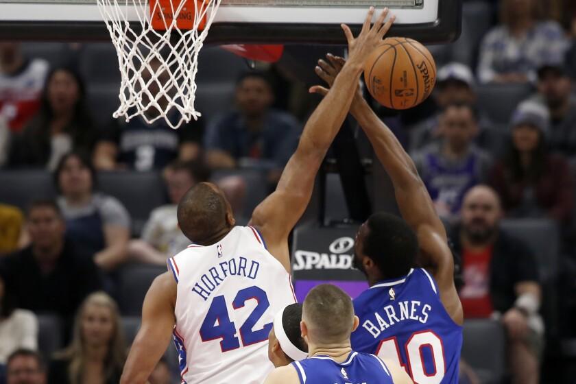 76ers Kings Basketball