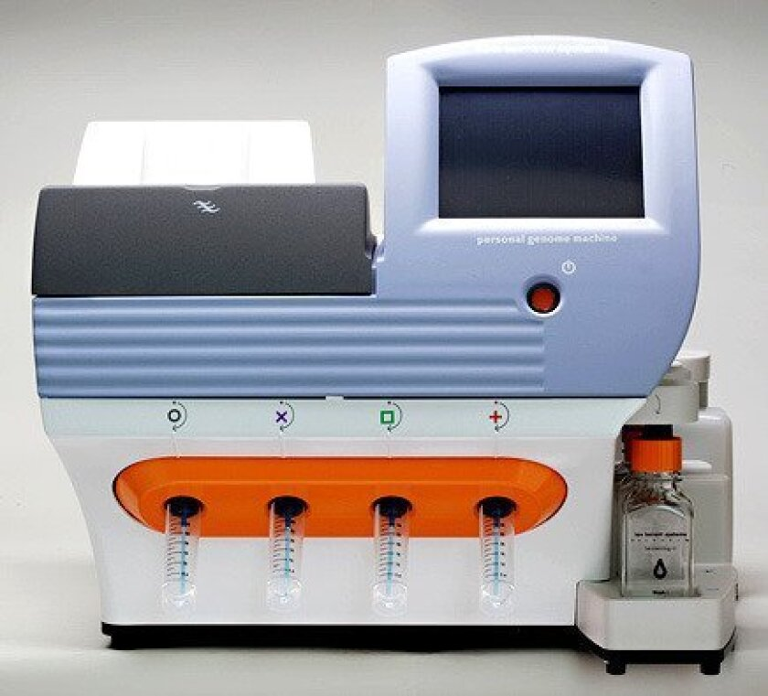 Life Technologies plans to introduce Ion Torrent's Personal Genome Machine into the commercial market later this year.