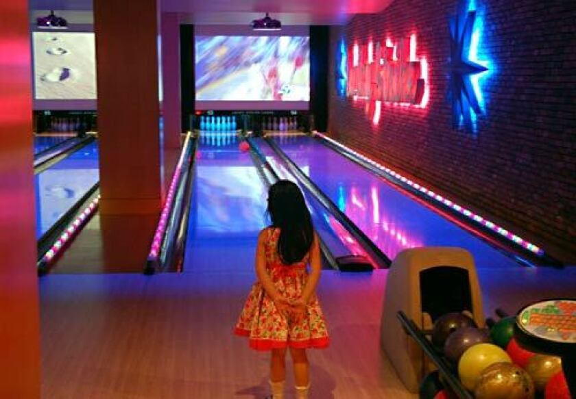 Bowling at L.A.. Live