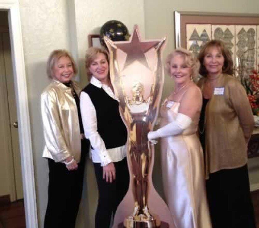 Ruth Jacobowitz, Karen Hickman, Oscar, Barbara Anne Ahlfeld, and Melinda Underkofler. Courtesy