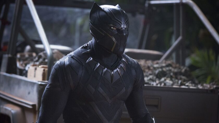 """Chadwick Boseman appears in """"Black Panther,"""" which had solid debut in China."""