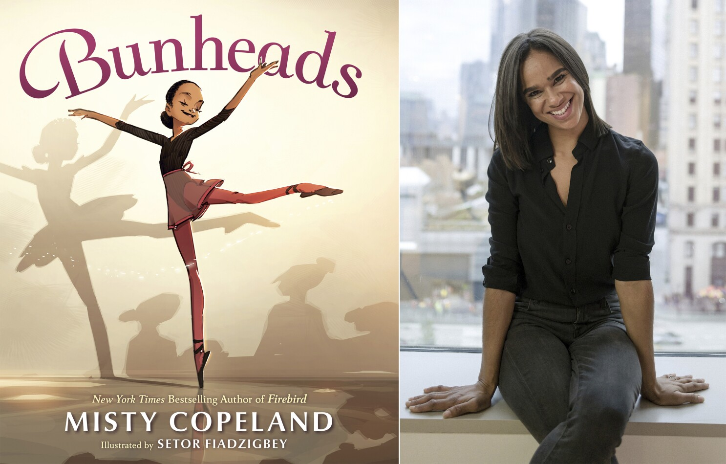 Misty Copeland Chats About Her New Kids Book Bunheads Los Angeles Times