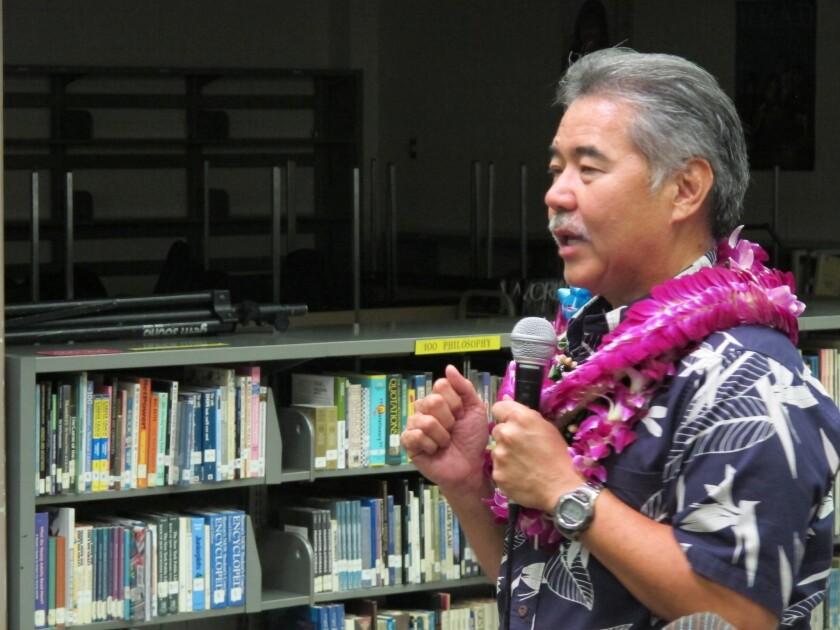 Democrat David Ige has won Hawaii's governorship in a three-way race.