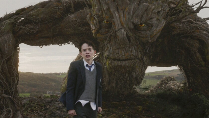 Lewis MacDougall in 'A Monster Calls'