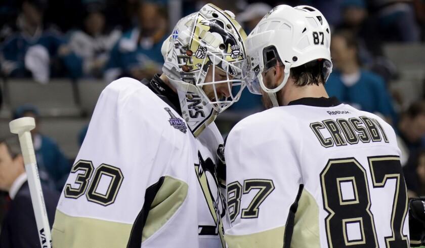 Sidney Crosby, Matt Murray