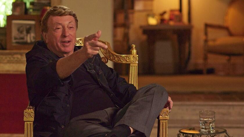 "Filmmaker Larry Cohen in the 2017 biographical documentary ""King Cohen."""